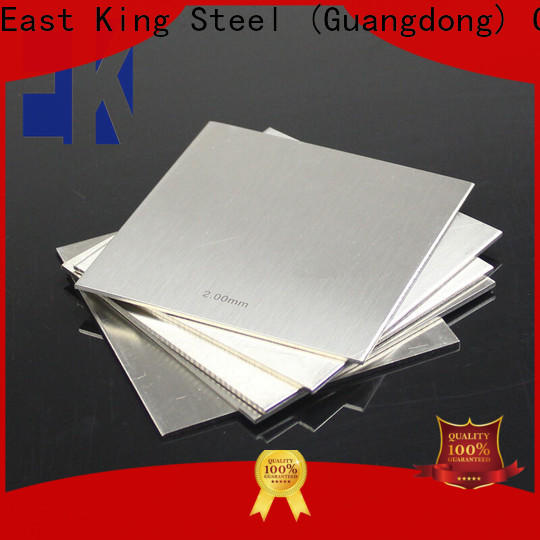 East King wholesale stainless steel plate factory for aerospace