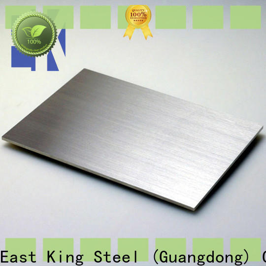 East King wholesale stainless steel sheet factory for construction