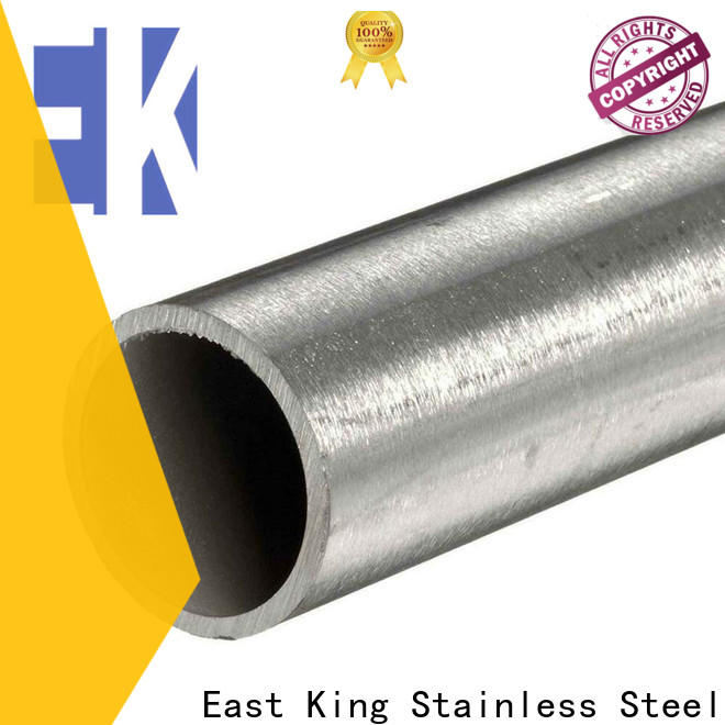 East King top stainless steel tube factory for tableware