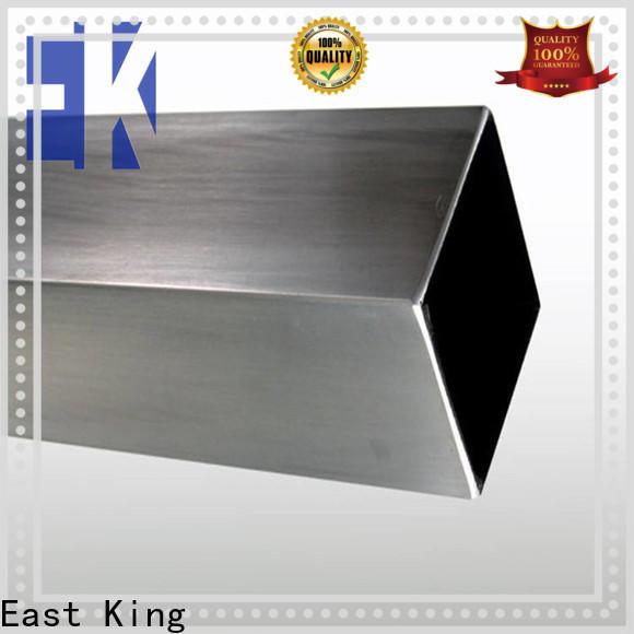 East King stainless steel tube series for mechanical hardware