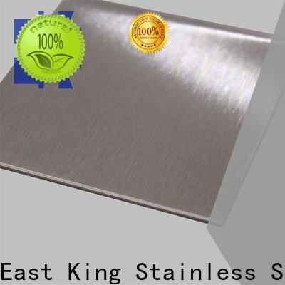 East King top stainless steel sheet directly sale for tableware