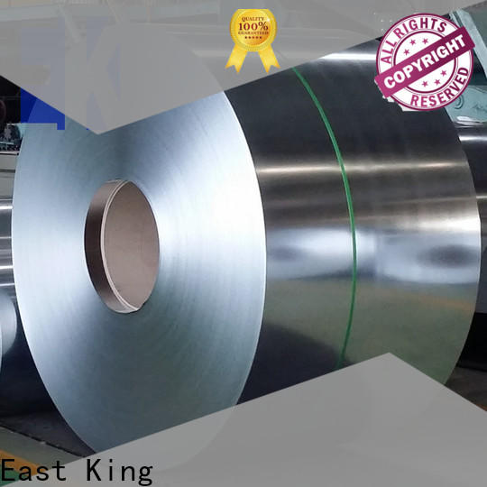 East King custom stainless steel coil series for windows