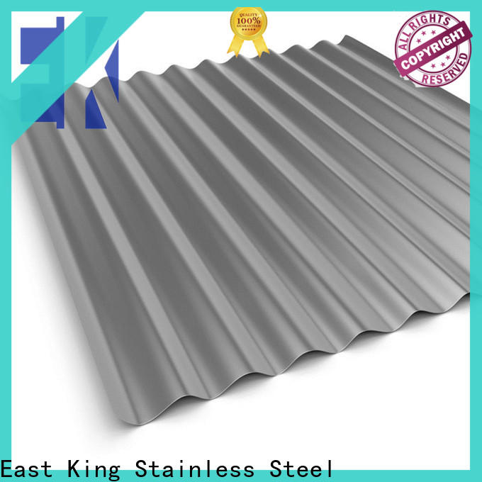 East King stainless steel plate factory for bridge
