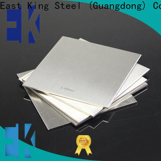 East King stainless steel sheet factory for mechanical hardware