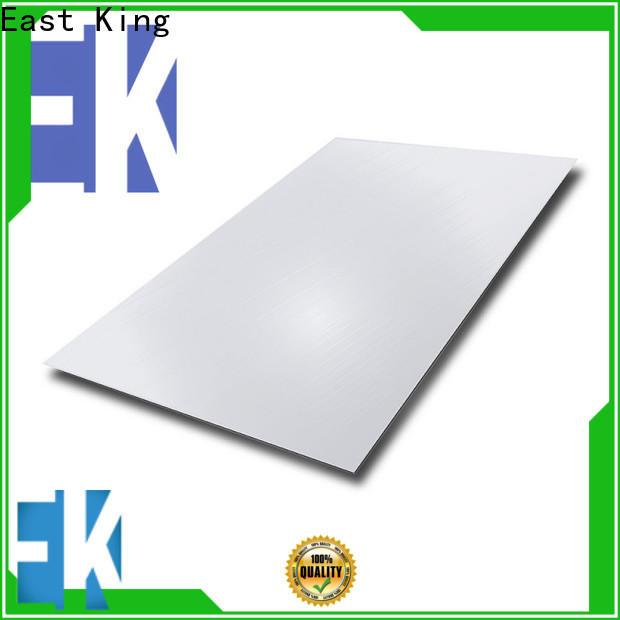East King stainless steel plate with good price for aerospace