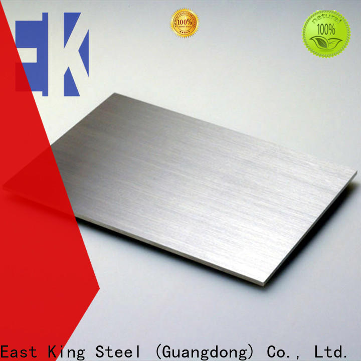East King high-quality stainless steel sheet supplier for bridge