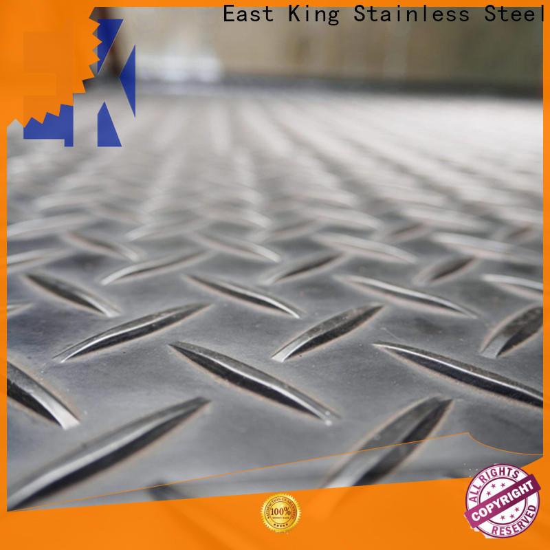 East King stainless steel sheet manufacturer for bridge