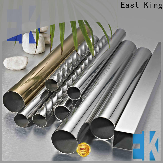East King stainless steel tube with good price for tableware
