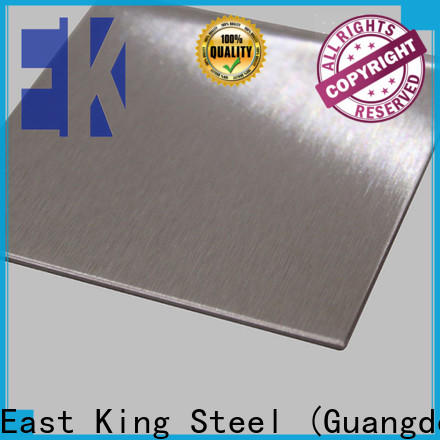 East King custom stainless steel plate supplier for aerospace