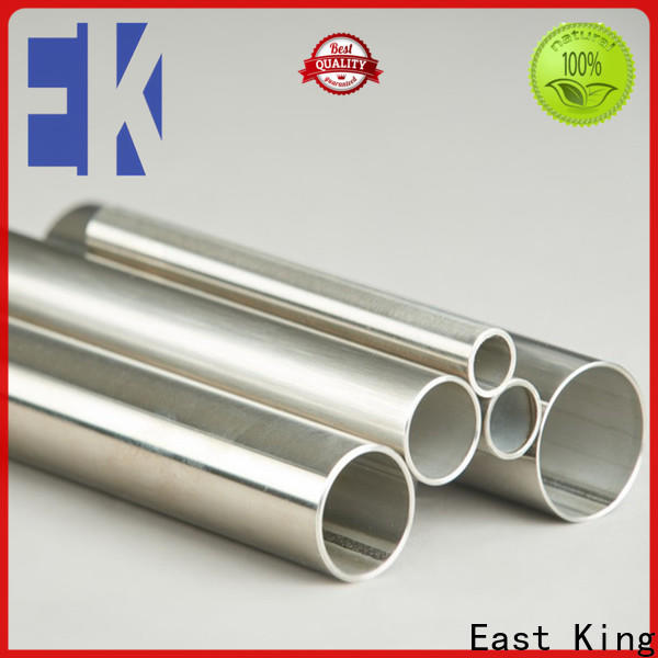 East King stainless steel pipe with good price for mechanical hardware