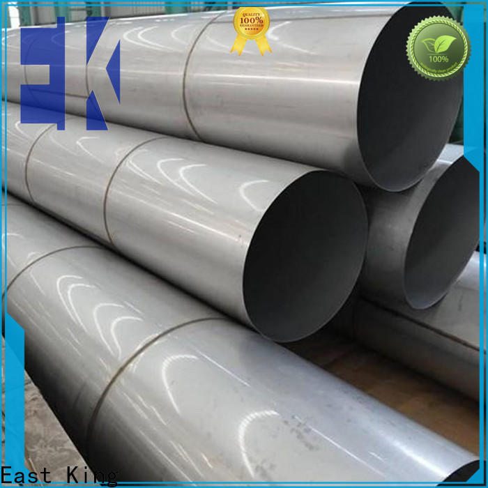 East King wholesale stainless steel pipe with good price for mechanical hardware