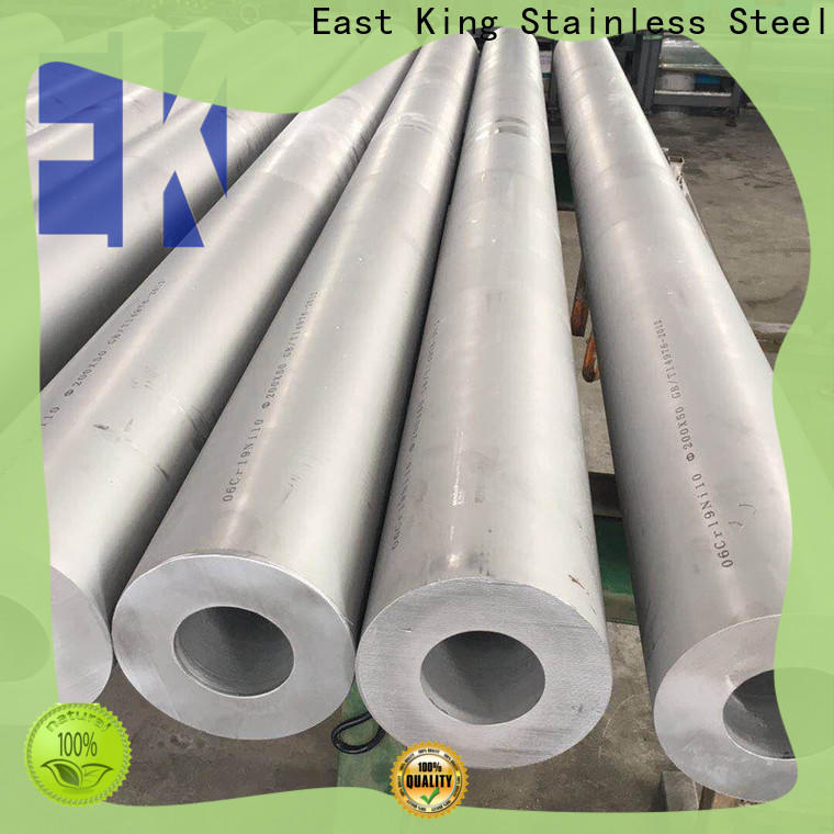 East King stainless steel tube factory price for tableware