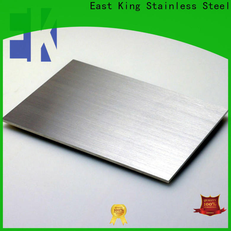 East King custom stainless steel plate with good price for bridge
