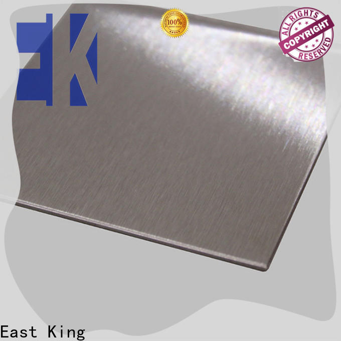 East King stainless steel plate directly sale for bridge