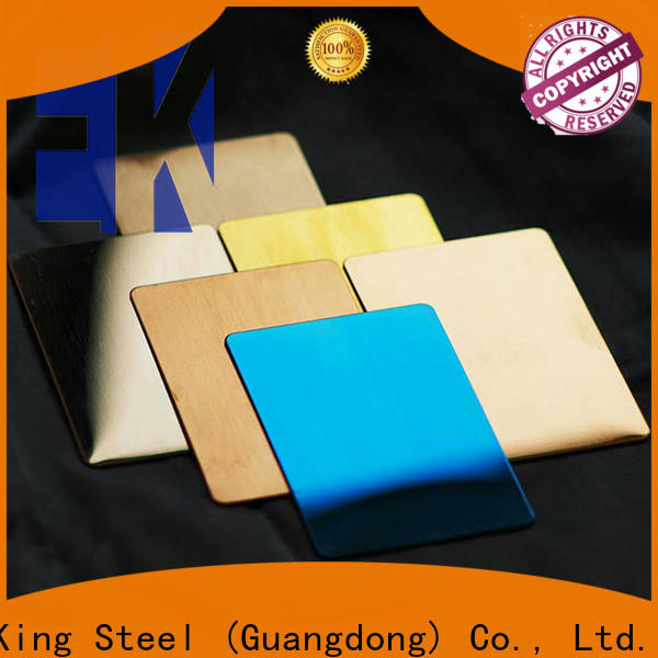 East King stainless steel sheet factory for construction