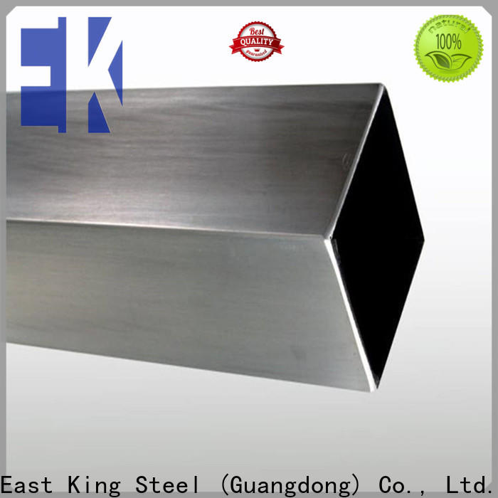 East King stainless steel tubing series for bridge
