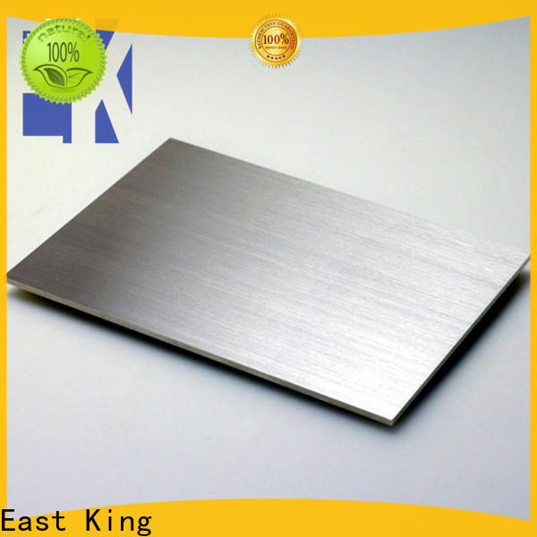 East King wholesale stainless steel plate supplier for construction