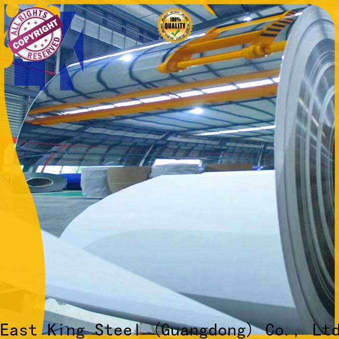 East King best stainless steel roll factory for chemical industry