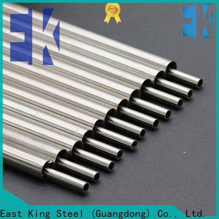 East King new stainless steel pipe series for bridge