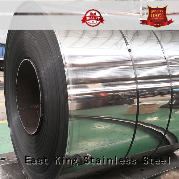 East King professional stainless steel roll factory for decoration