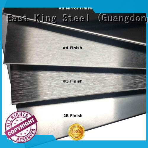 East King high strength stainless steel plate factory for mechanical hardware