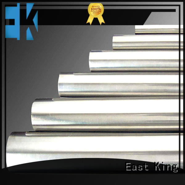 East King stainless steel pipe directly sale for tableware