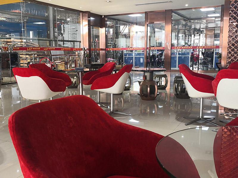 Customer visit rest area