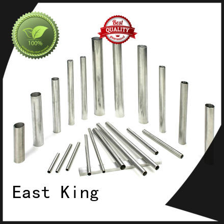 East King stainless steel pipe directly sale for mechanical hardware