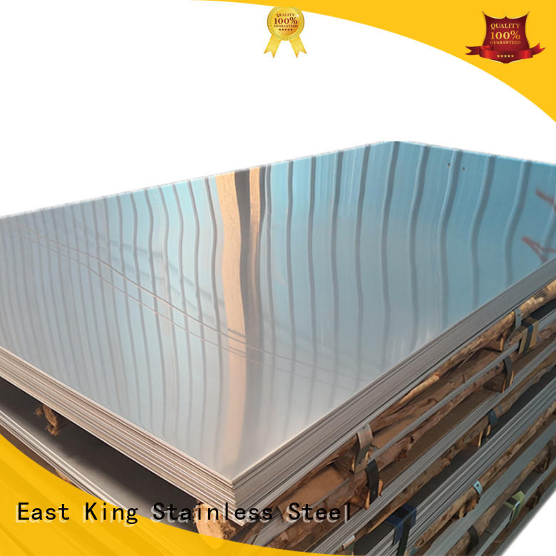 East King durable stainless steel plate for tableware