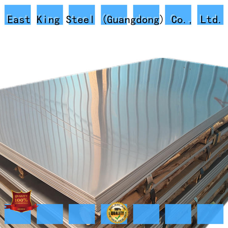 East King durable stainless steel plate supplier for tableware