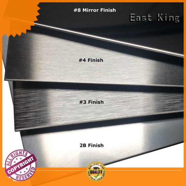 East King excellent stainless steel sheet wholesale for bridge
