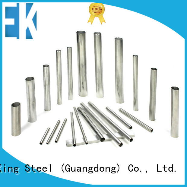 East King professional stainless steel tube factory for bridge