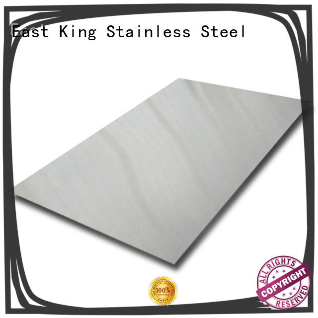 East King high quality stainless steel plate supplier for construction