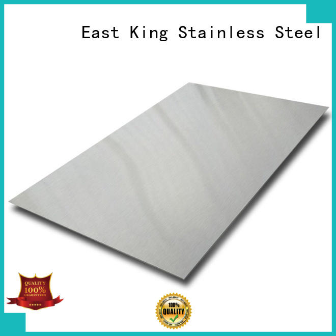 stainless steel plate factory for construction East King
