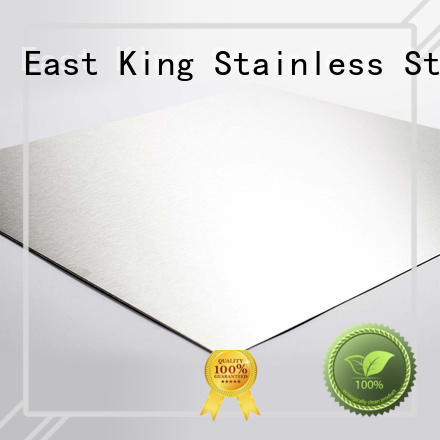 East King reliable 304 stainless steel sheet metal for aerospace