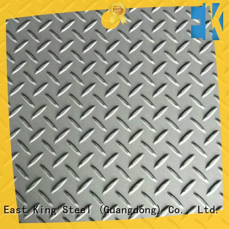 3mm stainless steel sheet factory for bridge East King