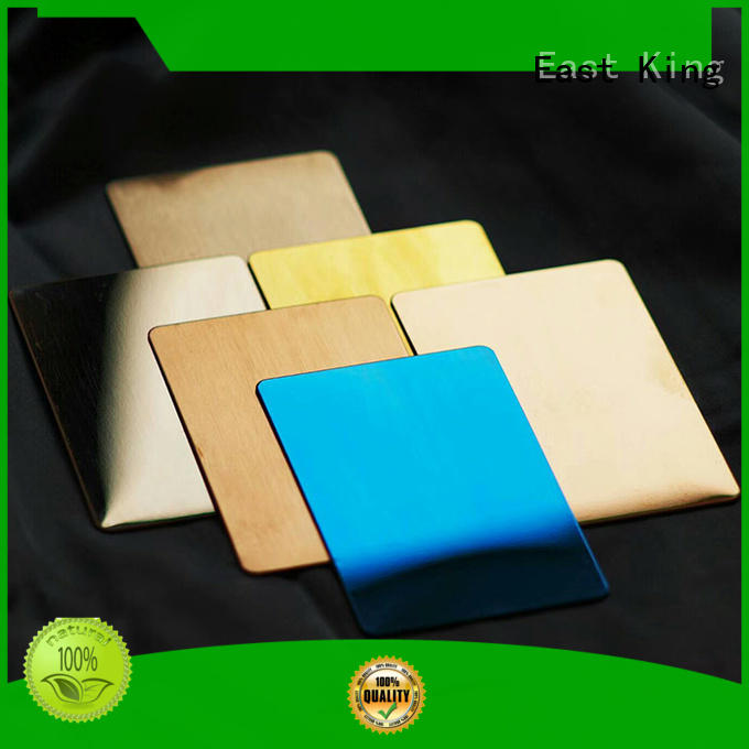 East King excellent stainless steel sheet wholesale for construction