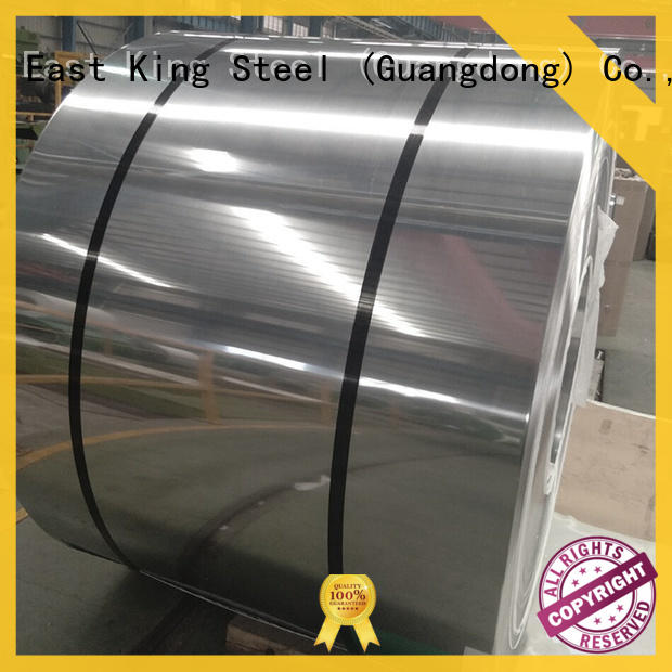 East King stainless steel coil wholesale for decoration