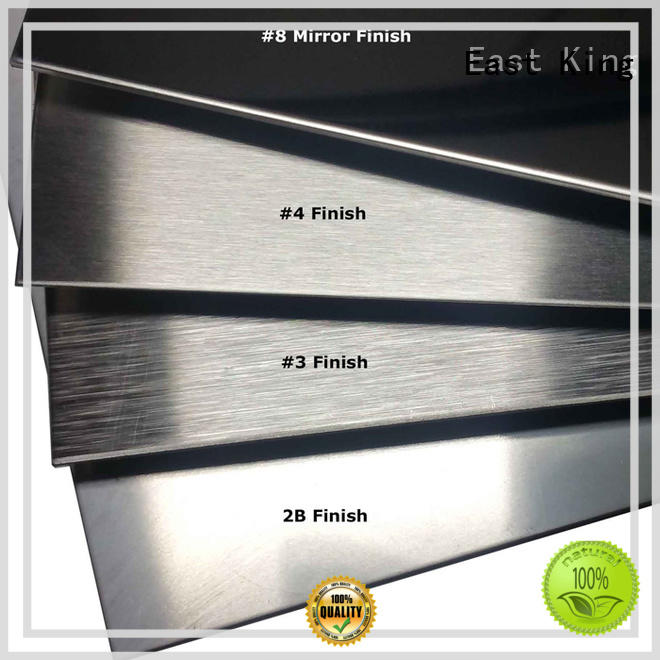 East King high strength stainless steel sheet directly sale for mechanical hardware