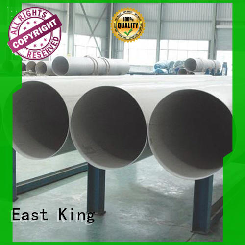 East King stainless steel tube factory for tableware