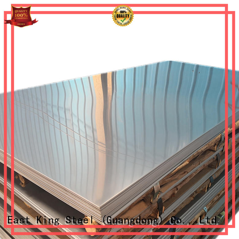 thin stainless steel sheets for bridge East King