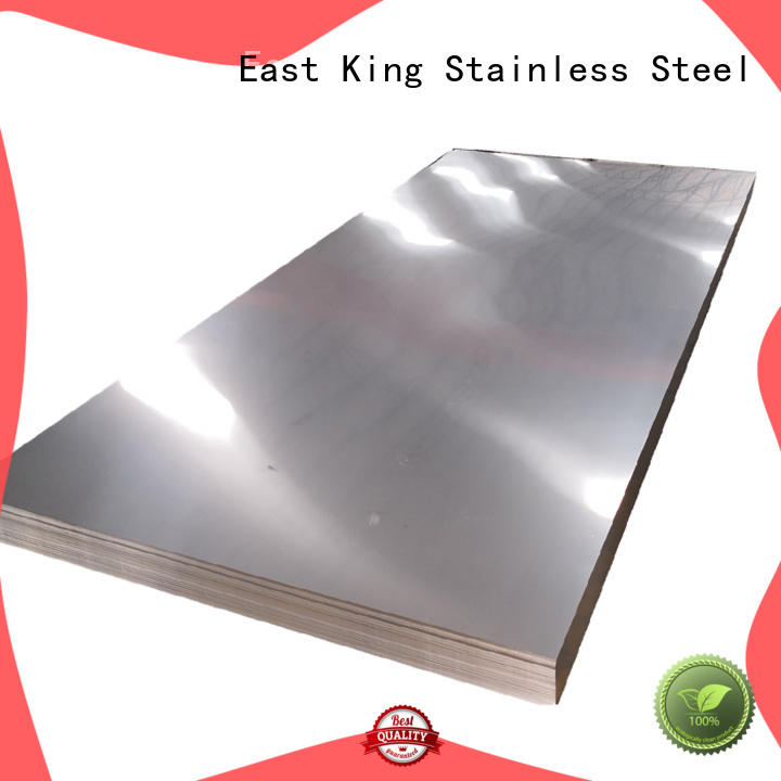 East King high strength stainless steel plate with good price for bridge