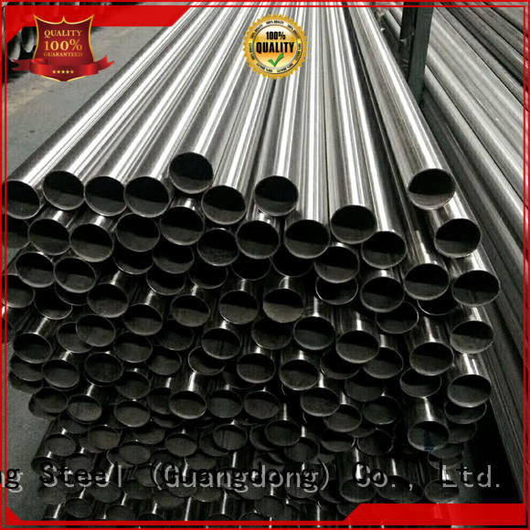 high quality stainless steel tube factory for bridge