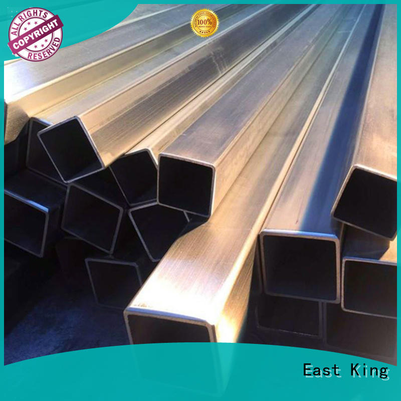 East King reliable stainless steel pipe series for bridge