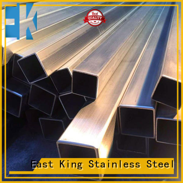 East King stainless steel tubing series for construction