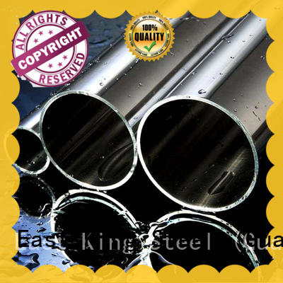 East King high quality stainless steel tubing directly sale for bridge