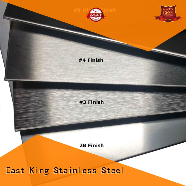 East King stainless steel sheet directly sale for bridge