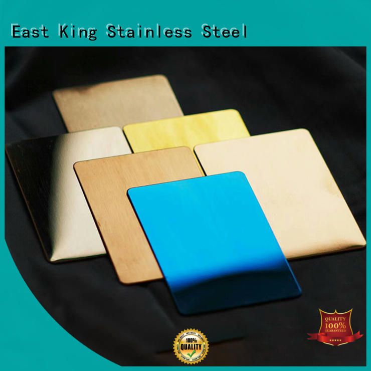 East King professional stainless steel plate supplier for tableware