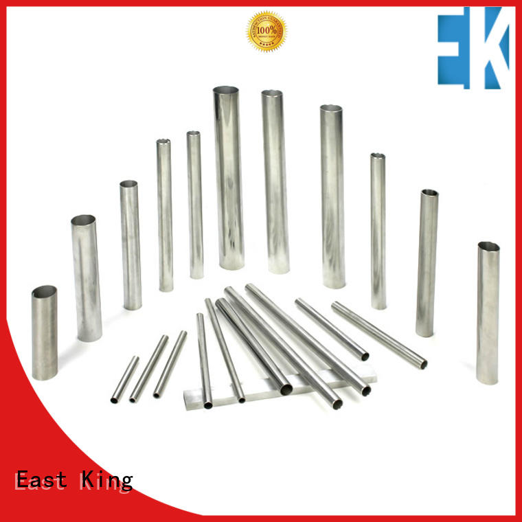 East King practical stainless steel tube directly sale for tableware