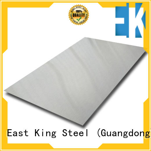 East King high strength stainless steel plate manufacturer for mechanical hardware